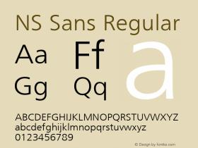 NS Sans
