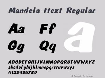 Mandela ttext