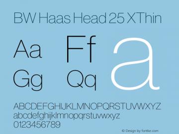 BW Haas Head