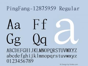 PingFang-12875959