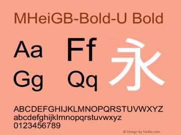 MHeiGB-Bold-U