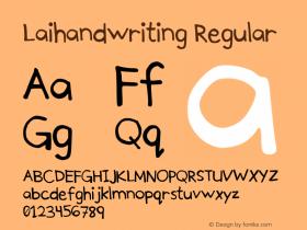 Laihandwriting