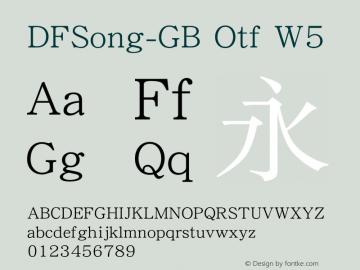 DFSong-GB Otf