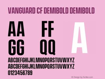 Vanguard CF DemiBold