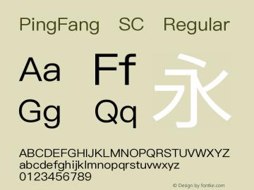 PingFang SC