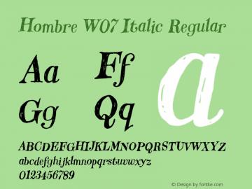 Hombre W07 Italic