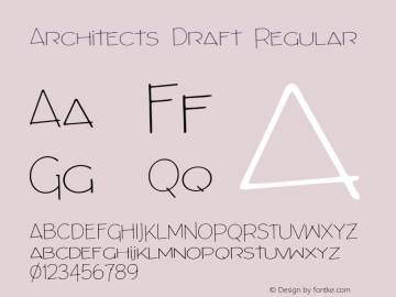 Architects Draft