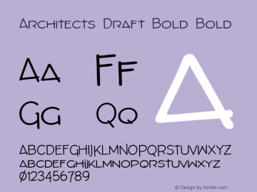 Architects Draft Bold