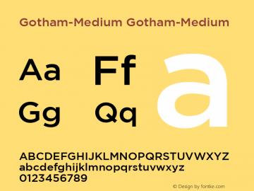 Gotham-Medium