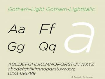Gotham-Light