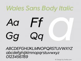 Wales Sans Body