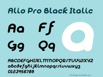 Alio Pro