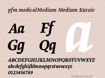 pfm medicalMedium