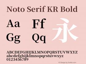 Noto Serif KR