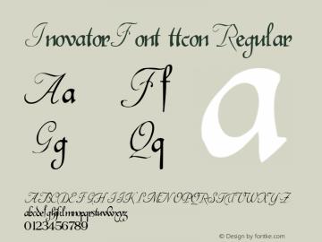 InovatorFont ttcon