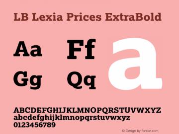 LB Lexia Prices