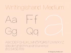 Writingishard