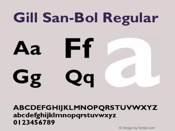 Gill San-Bol