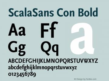 ScalaSans Con