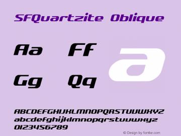 SFQuartzite