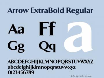 Arrow ExtraBold
