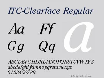 ITC-Clearface