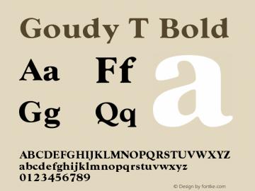 Goudy T