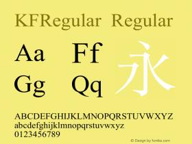 KFRegular