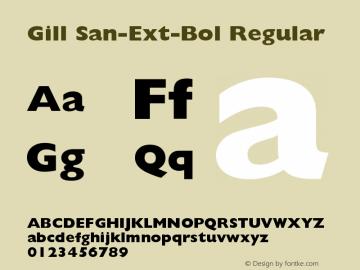 Gill San-Ext-Bol