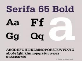 Serifa 65