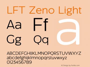 LFT Zeno