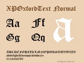XPOxfordText