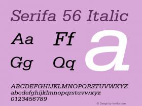 Serifa 56