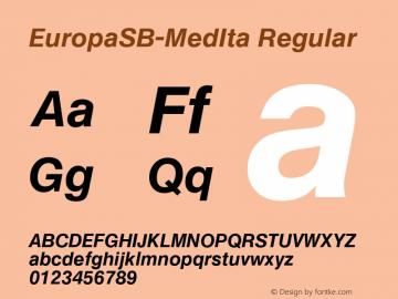 EuropaSB-MedIta