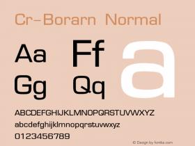 Cr-Borarn