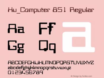 Hu_Computer 851
