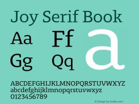 Joy Serif