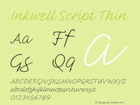 Inkwell Script