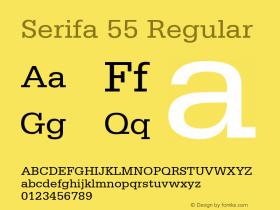 Serifa 55