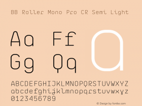 BB Roller Mono Pro CR