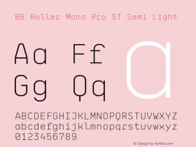 BB Roller Mono Pro ST