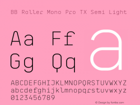 BB Roller Mono Pro TX