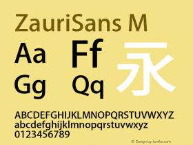 ZauriSans