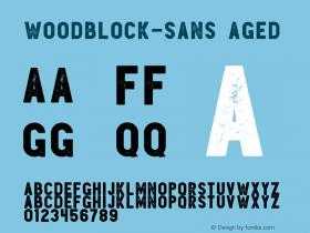 Woodblock-Sans