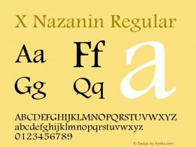 X Nazanin