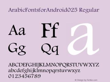 ArabicFontsforAndroid025