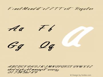 FinalMandate77 ttext