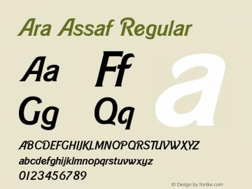 Ara Assaf