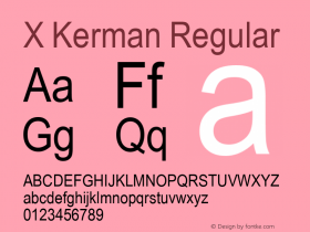 X Kerman