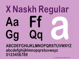 X Naskh